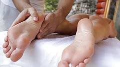 Blanche Bradburry foot play