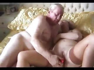 Old Amateur Couple