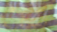 sperm stiff stolen green stripe teen panties