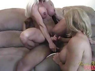 Preview 2 of After A Good Muscle Fuck Cums The Handjob