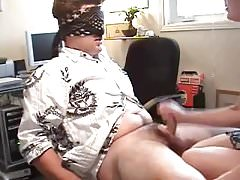 Handjob while blindfolded - allthingscfnm