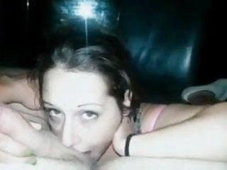Cock gagger sucks it better when she's on video!