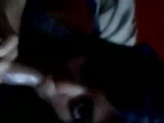 Desi Indian girl blowing and fucking uncut cock hindi