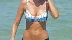 Elizabeth Turner - Bikini at the beach in Miami