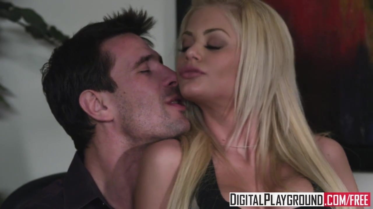Riley Steele rides her bosses dick - Digital Playground