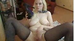 Blonde Bimbo Kinky Pussy Play
