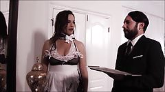 The milf Maid is pretty weird