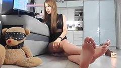 Webcam footfetish soleshow comp
