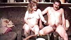 Vintage couple sex
