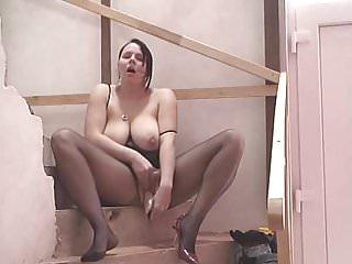 Masturbazione sulle scale xx
