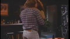 Viviana fucks cowboy at the bar