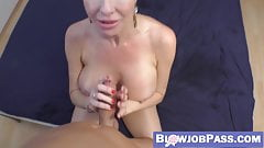 Stunning MILF Veronica Avluv blows before POV cowgirl