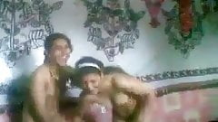 Two Pakistani teen girl strip naked for a dare