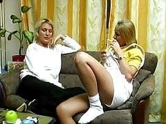 Blond German Amateur solo