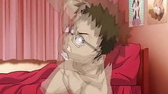 Anime Redhead pussy is being drilled deeply during doggy
