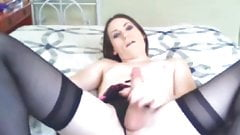 TS Michelle Jerks on Cam