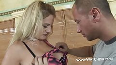 MILF FUCK IN PERFEKTION, BLOND BIG BOOBS MEGA CUM