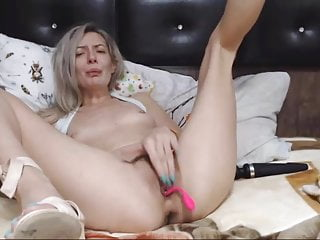 Bitch Gets Nasty Spreading Her Legs Sexy Sandals Included