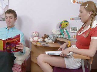 Sb Stepbrother Helps Her With More Than Her Studies