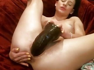 Fucking my pussy with big black cock