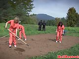 Uniformed bdsm subs dominated by maledom guys