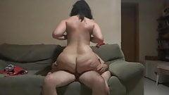 Female masturbation caught on video