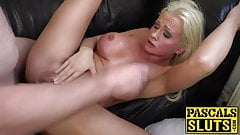 Bombshell Cindy Sun teasing before anal domination's Thumb