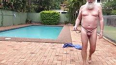 Dubio open crotch swimsuit