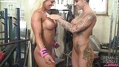Dani and Megan - Muscle Lesbians