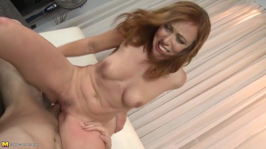 a Mom porn has dick