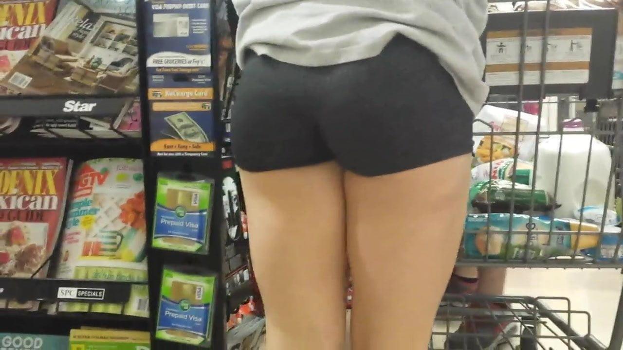 Booty shorts porn tube