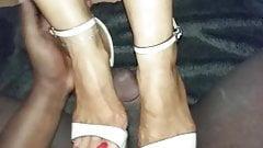 Interacial shoejob with platform heels's Thumb