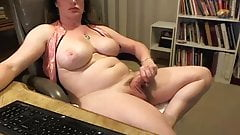 Big tits and Long cock