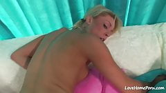 POV cowgirl and cock sucking from a beauty