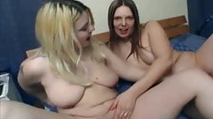 2 lesbians cousins love to suck each other's pussy juice-1