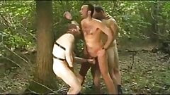 Bear Gangbang in Forest
