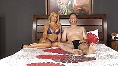 Big Tit Blonde MILF Sara St Clair Gets Fucked By Brad Knight