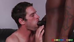 Keith Cook Lets A Black Guy Fuck His Ass