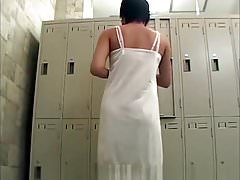 Spy Cam Shows Changing Room
