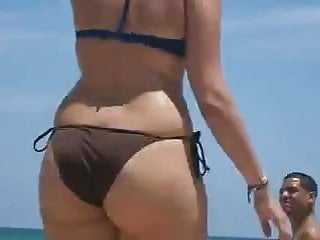 Wide Sexy Hips Big asses on beach 2014