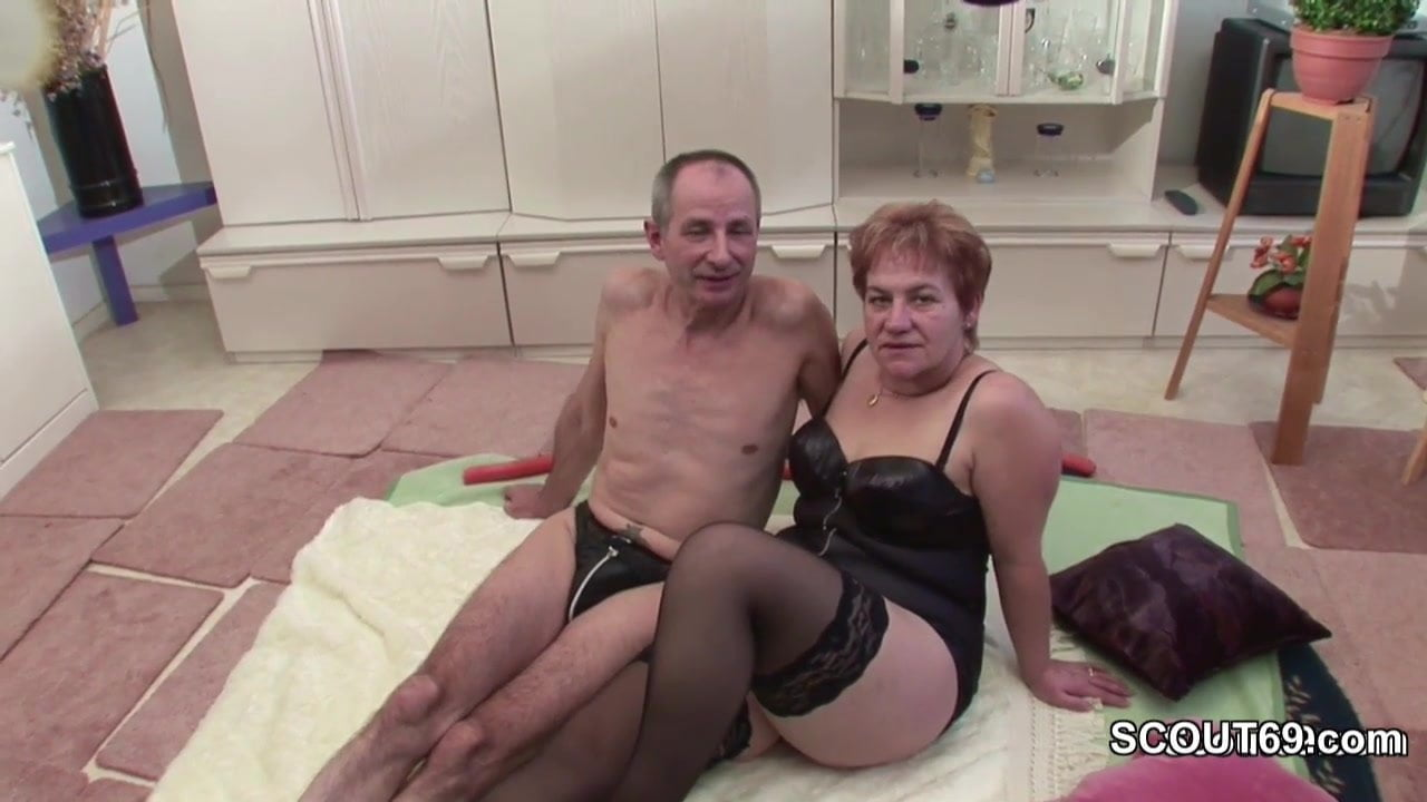 German Grandpa And Grandma Make Porn Casting First Time-3624