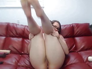 Loud moaning whooty BBC cuckold Scarlette squirting
