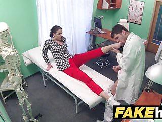 Fake Hospital Doctor prescribes sticky facial to help heal