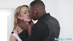 Pussyfucked milf enjoys cuckolding her lover