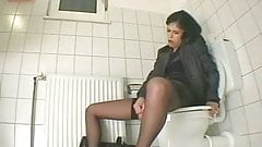 Spy cam in the office toilet