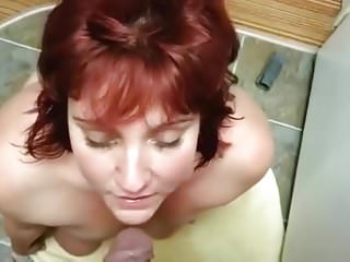 Piss slut takes the golden stream of pee in her mouth 5
