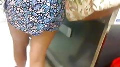 ebony teen upskirt
