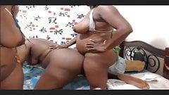 3 BLACK GIRL FUCK
