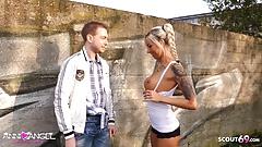 Virgin Boy get First Fuck by German Perfect Teen Anni Angel