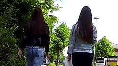 Candid - 2 Sexy Teen Asses